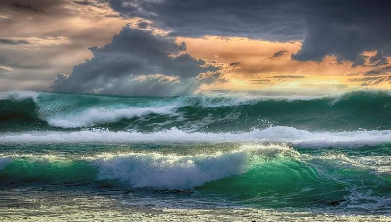 картина про шторм