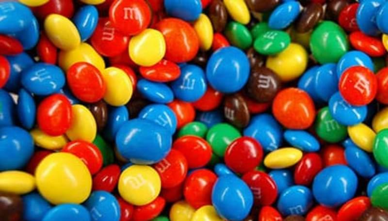 м и м конфеты