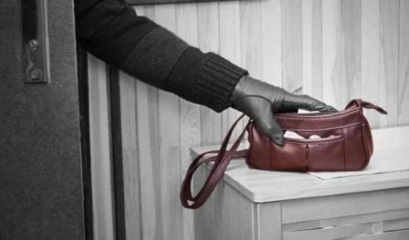 сумка перед воровством