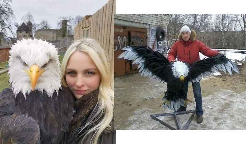 орел во сне – это мужчина, которого она встретит